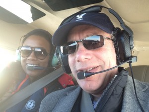 Asha and Julian in Falconair