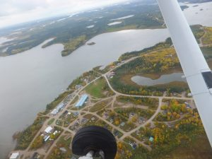Aerial View of Bearskin Lake First Nation