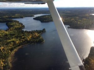 Aerial View of Sandy lake First Nation