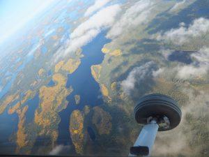 Aerial view of Kasabonika Lake First Nation