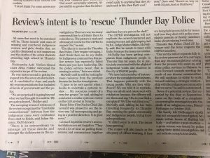 The continued article in the Toronto Star