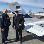 Falconair makes trip to Treaty Three Territory