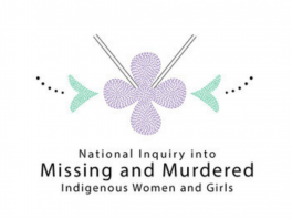 national inquiry into missing and murdered indigenous women and girls logo