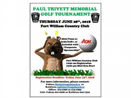 paul trivett golf poster
