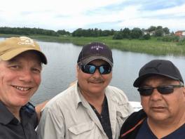 members of falconers in rainy river