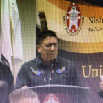 NAN Grand Chief Alvin Fiddler Chief of NAPS, Terry Armstrong and Julian Falconer